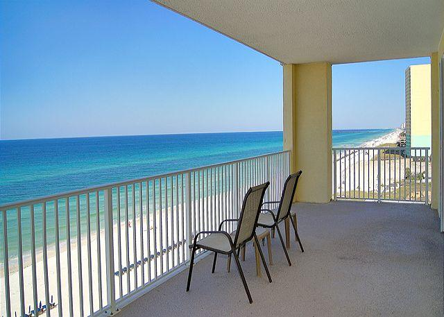 Beautiful Gulf View - GLAMOUROUS BEACHFRONT FOR 10! HUGE!  BEST DEAL ON THE BEACH THIS FALL! - Panama City Beach - rentals