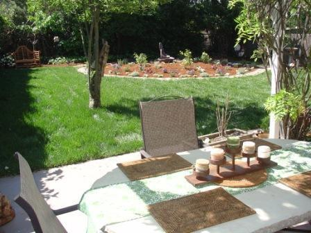 Back Yard Patio and Garden - Casa Bonita - A Wine Country Retreat - Sonoma - rentals