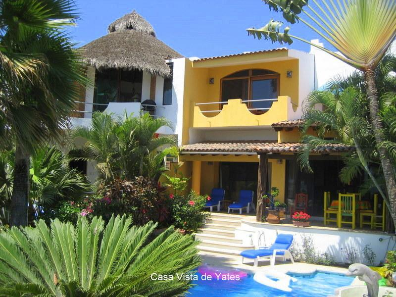 Casa Vista de Yates - LOVELY TRADITIONAL CASA- SUPER VIEW/STEPS TO BEACH - La Cruz de Huanacaxtle - rentals