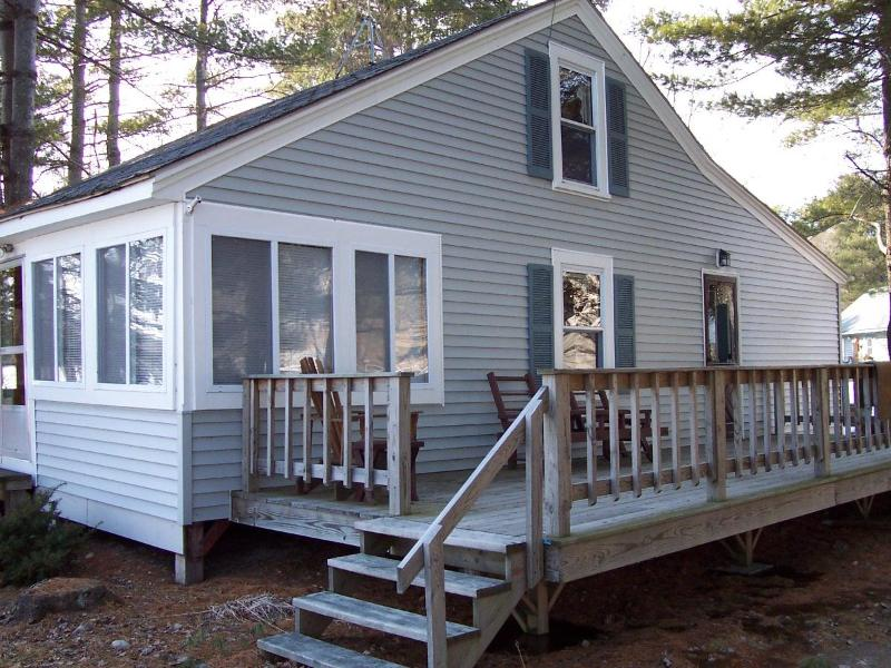 cottage - Belgrade Lakes Salmon Lakefront Cottage - Belgrade - rentals