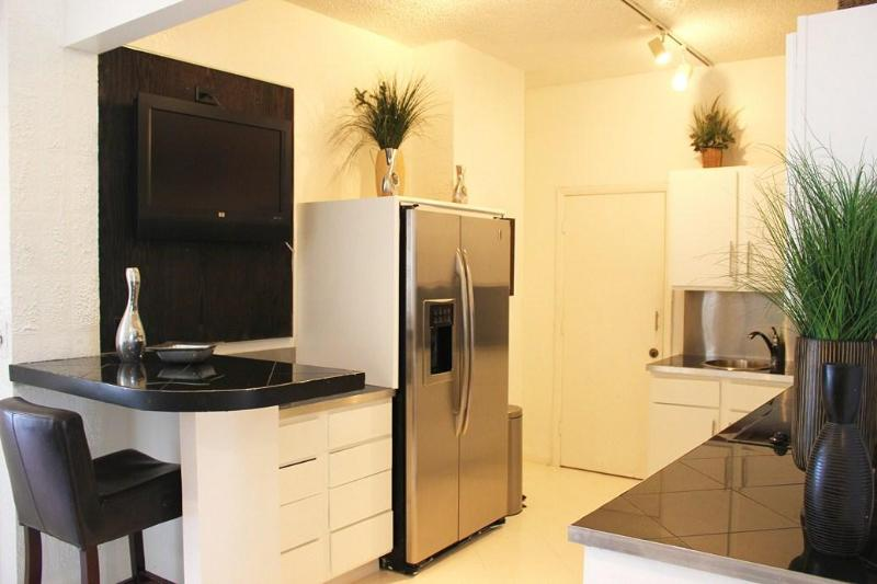 Fully Equipped Kitchen with stainless steel appliances - Ocean-Bayfront Tampa Hyde Park SOHO Bayshore Condo - Tampa - rentals