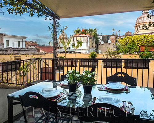 Terrace with Views-Piazza Navona-Campo Fiori-Danza - Image 1 - Rome - rentals