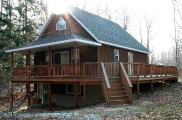 Cozy Cabin Silver Lake Exterior - Cabin at Silver Lake,4 BR, sleeps 15, Heated Pool+ - Mears - rentals