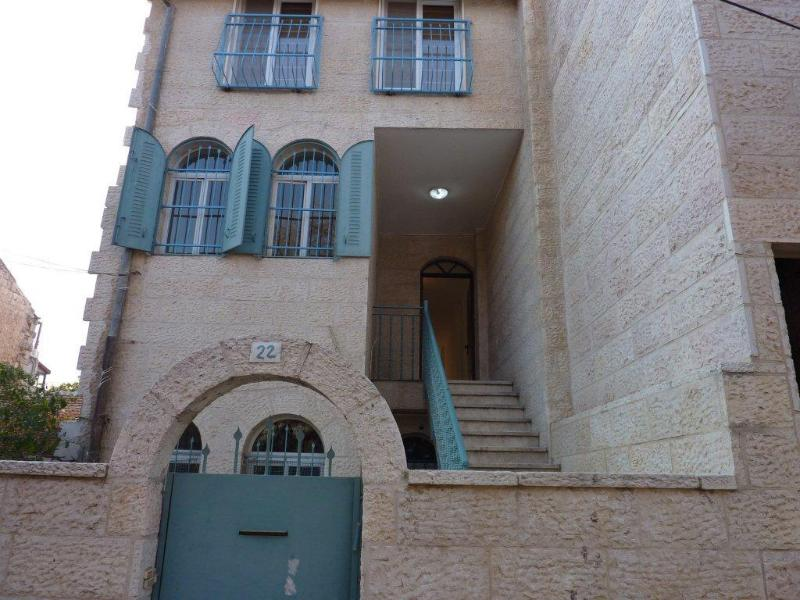 Special House in trendy and quaint Nachlaot - Image 1 - Jerusalem - rentals