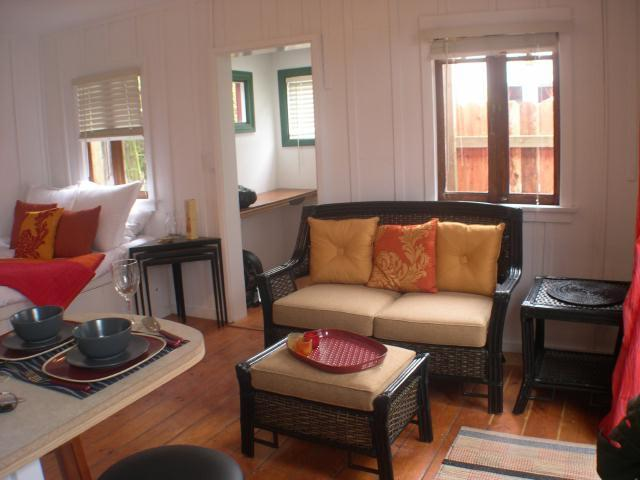 Studio Living area - Studio Cottage steps to Beautiful beach - La Jolla - rentals