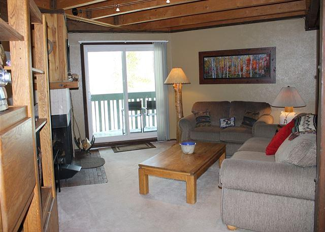 TH201F Affordable Condo w/Wifi, Clubhouse, Mountain Views, Fireplace - Image 1 - Silverthorne - rentals