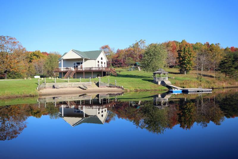 Lodge on the Lake - Secluded, rustic lodge - Image 1 - Hocking Hills - rentals