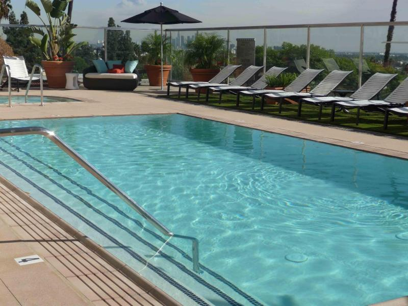 Pool with view of the City - $199 5 STARS SPECIAL Pool, Gym, Views Sunset Strip - West Hollywood - rentals