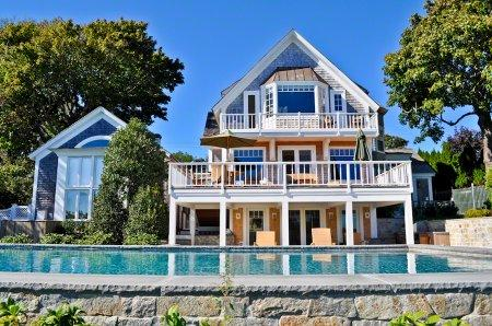 1870'S CLASSIC MEETS CONTEMPORARY CHIC WITH POOL & EDGARTOWN HARBOR VIEWS - EDG GSIS-93 - Image 1 - Edgartown - rentals