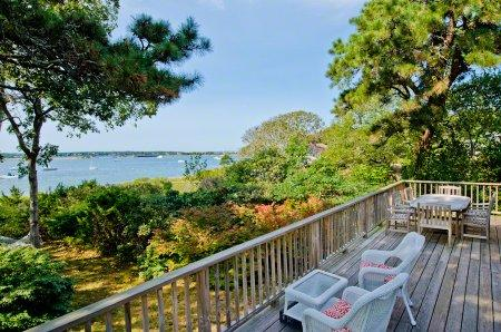 BEACH HOUSE ON THE LAGOON WITH PRIVATE BEACH - OB HGOL-60 - Image 1 - Oak Bluffs - rentals