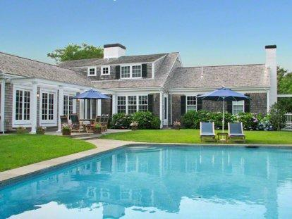 SOPHISTICATED VILLAGE LUXURY RETREAT WITH POOL - EDG MGLE-115 - Image 1 - Edgartown - rentals