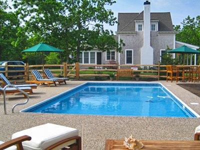 WATCHA PATH COMPOUND: COUNTRYSIDE LUXURY LIVING WITH POOL & HOT TUBS - EDG BKEN-23 - Image 1 - Edgartown - rentals