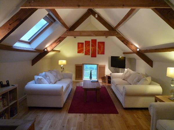 Sitting Room - The Gate House, Bath - 4 Star Gold Converted Barn - Bath - rentals