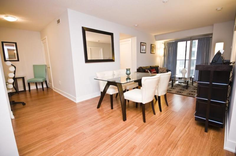 Modern & Chic Bar Setup with Wine Glasses, Beer Goblets & Martini Galsses  provided - BOOK 5 STAR LUXURY CONDO 2BR/2BA~HEART OF DOWNTOWN - Toronto - rentals
