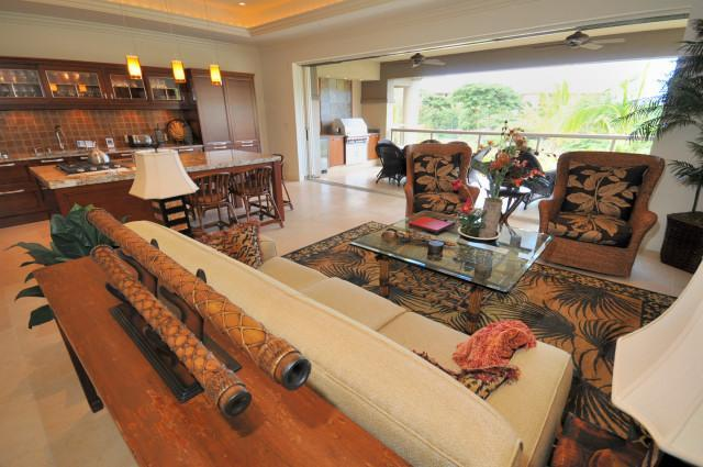 Main Floor - Living Area - Three Bedroom Home in Wailea - Ho'olei S (12) 2 - Wailea - rentals