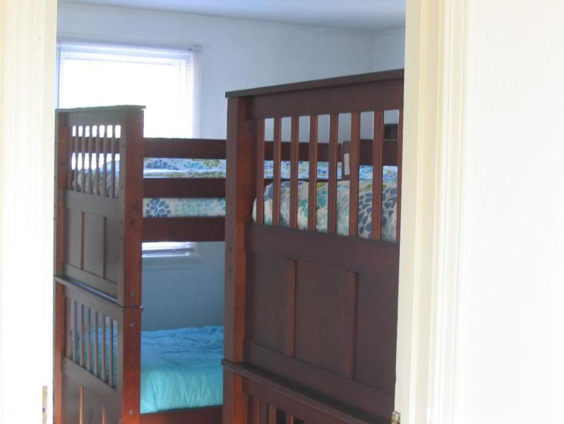Bedroom 3, 2 sets of bunks - Waterfront First Floor sleeps 8 - Salisbury - rentals
