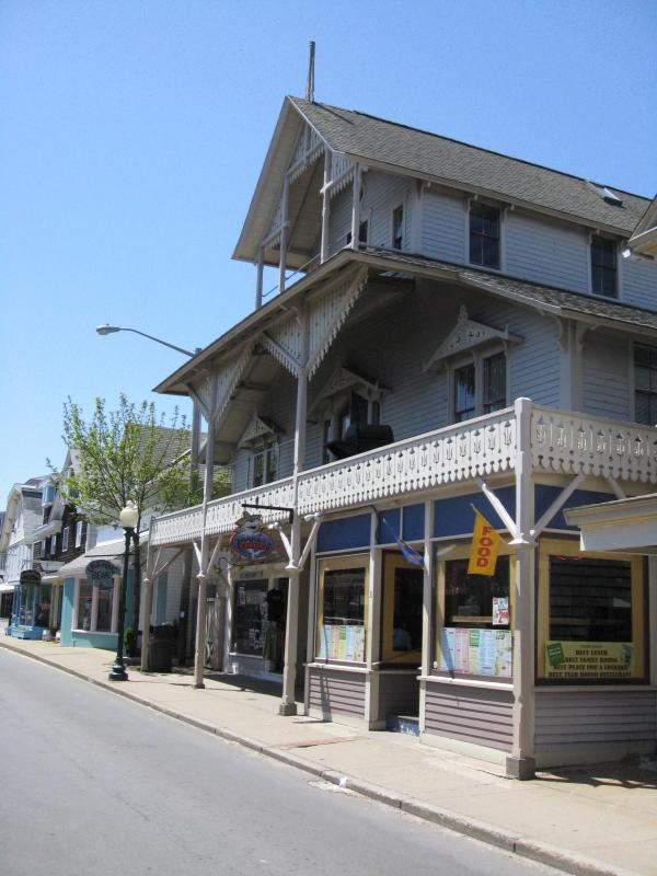 Facade Of Arcade Historic Property - In-Town Historic Property on Martha's Vineyard - Oak Bluffs - rentals