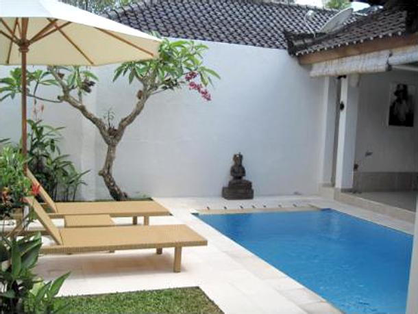 Dipping pool and sun terrace - Villa Susanta - Private one bedroom villa w/ pool - Ubud - rentals