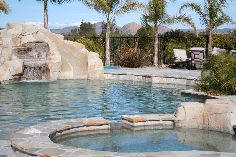 Pool at Bailey's Escape - Temecula Wine Country's Best Properties - Temecula - rentals