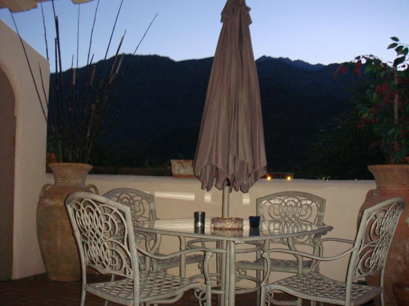 mt view from patio - DEAUVILLE   Quality-Comfort-10% DISC May thru Oct. - Palm Springs - rentals