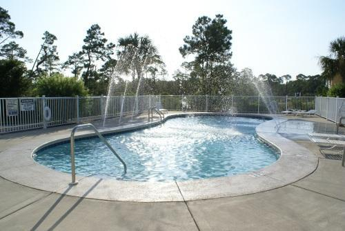 Splash into the community pool which is just steps from the unit's front door - Bay View Townhouse, On Bay, Pool, Near Gulf+Beach - Perdido Key - rentals