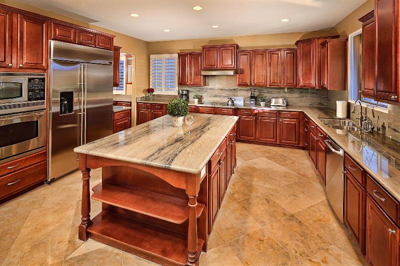 Full Kitchen - Upgraded with Granite Counter Tops - Escape to a Desert Oasis! Enjoy a Private Htd Pool - Cave Creek - rentals