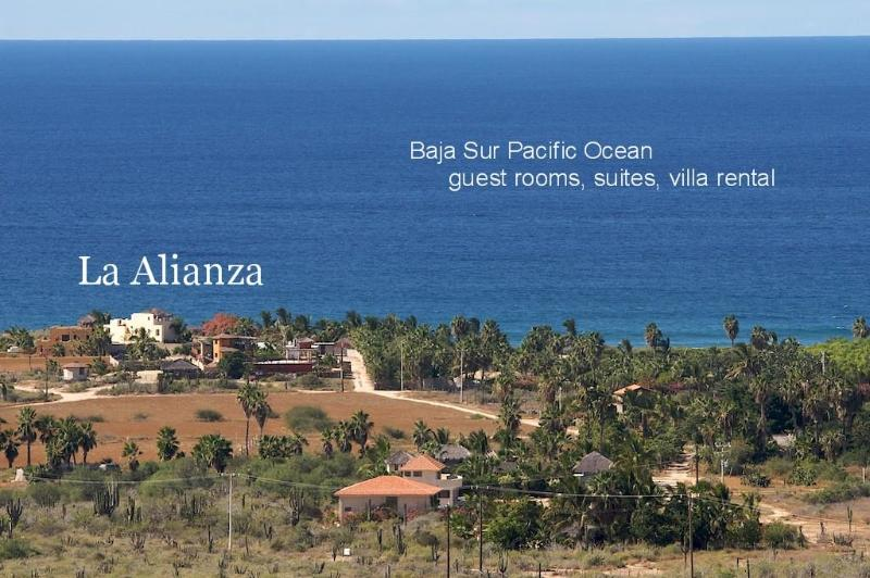 Welcome to La Alianza on the Pacific Ocean, BCS - La Alianza Baja Oceanside Vacation Rental & Rooms - El Pescadero - rentals
