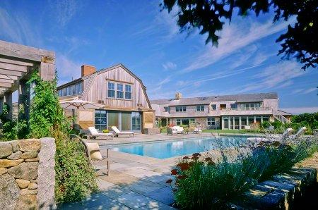 OCEANFRONT LUXURY ESTATE WITH GUEST HOUSE, POOL AND PRIVATE BEACH - EDG WADA-58 - Image 1 - Edgartown - rentals