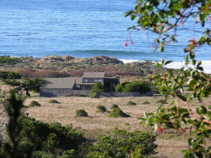 Casa Pacis (from hillside behind) - Casa Pacis (House of Peace) -- Superb Ocean Views - The Sea Ranch - rentals