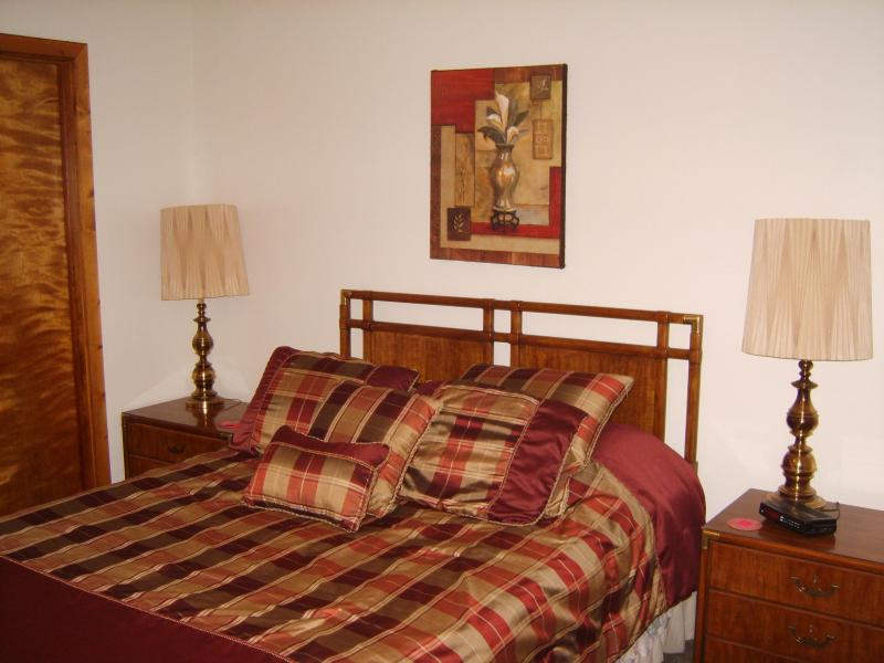 Master Bedroom - 2 BR Fully Furnished Condos, walk to UNC! - Chapel Hill - rentals