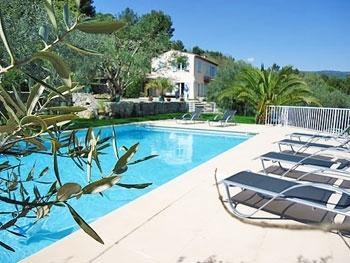 La Belle Vie Villa in French Var to let, holiday villa in var near French Riviera, Rent a villa in France Var, Fayence villa to rent - Image 1 - Fayence - rentals