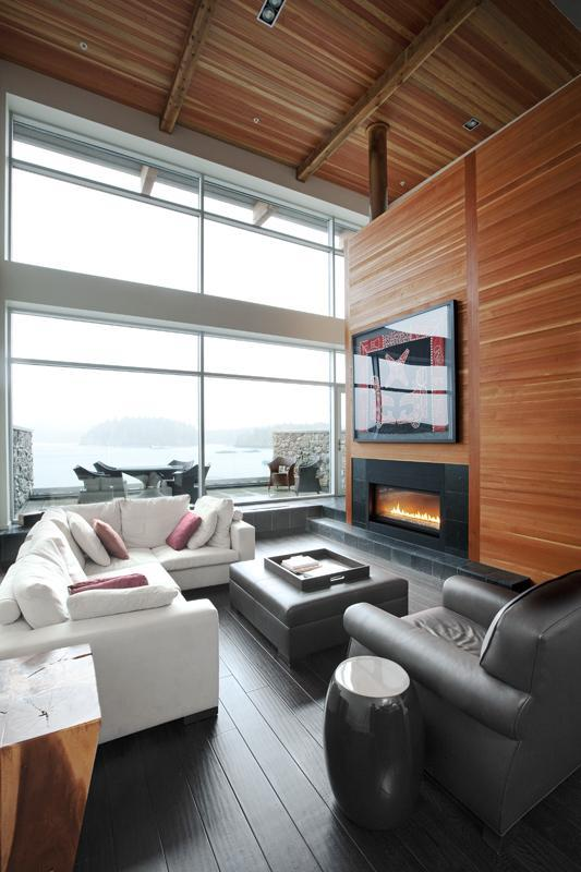 Oceanfront from Living room - Tofino - Brand New 5 Star Executive Rental - Tofino - rentals