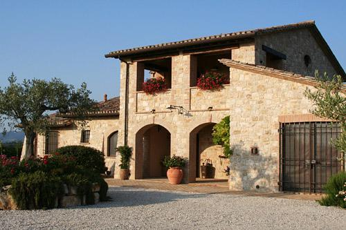 Front View - Il Casale di Mele ~ In The Heart of Umbria - Perugia - rentals