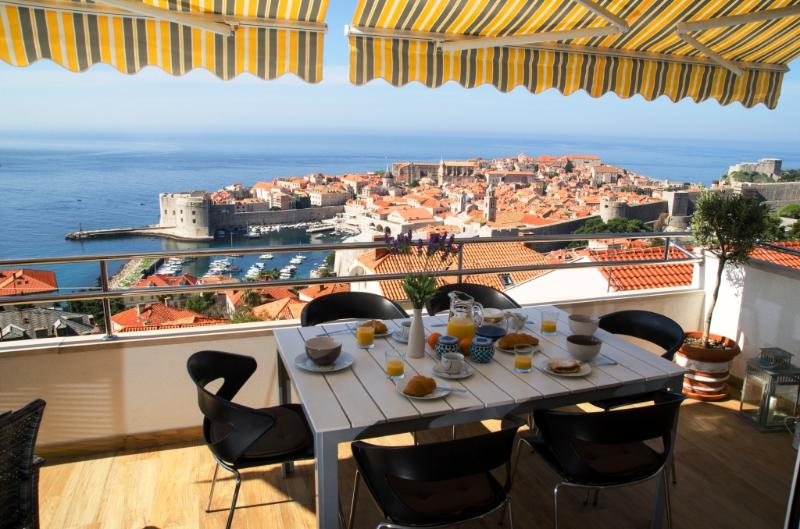 Panoramic views on the Old Town and Sea - Hot Tub! - Image 1 - Dubrovnik - rentals