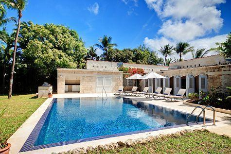 Beautiful landscaped gardens, large swimming pool and sun deck, perfect for outdoor entertaining - 3bed family villa, pool, steps to Gibbs beach - Gibbs - rentals