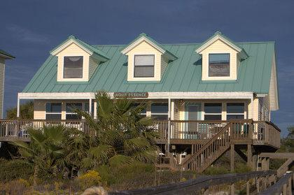 View from the Beach - Aqua Essence - Cape San Blas - rentals