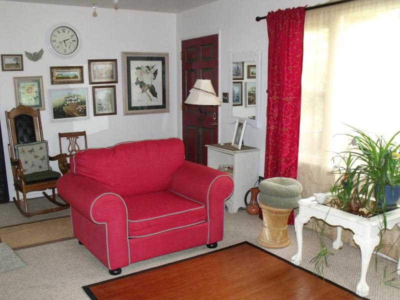 section of living room - Cherry Valley Country Home - Cherry Valley - rentals