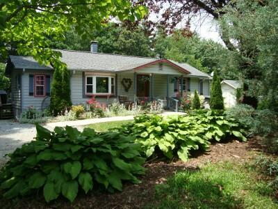 Secluded ROSE COTTAGE with Hot Tub, Swimming Pool, Massage Chair, King, Queens & Twin, Kid Friendly - Secluded/Pool/HotTub/King/MassageChr/Kid Friendly! - Asheville - rentals