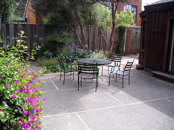 Back Patio - Murov - Stinson Beach - rentals