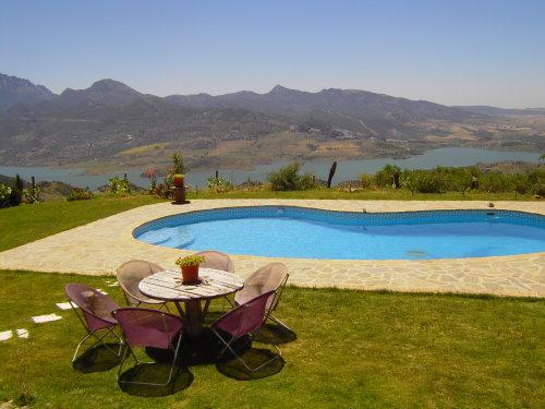Pool with panoramic view - Vacation home with pool  in the heart of Andalusia - El Gastor - rentals