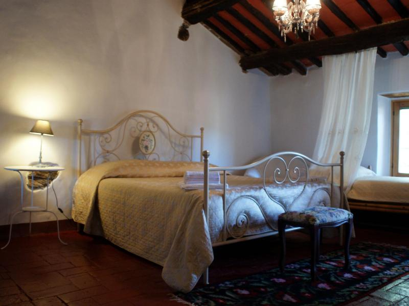 Double Room & Single bed/lounge - 2 brmTuscan House near everything  (Lucca/Pisa) - Pisa - rentals
