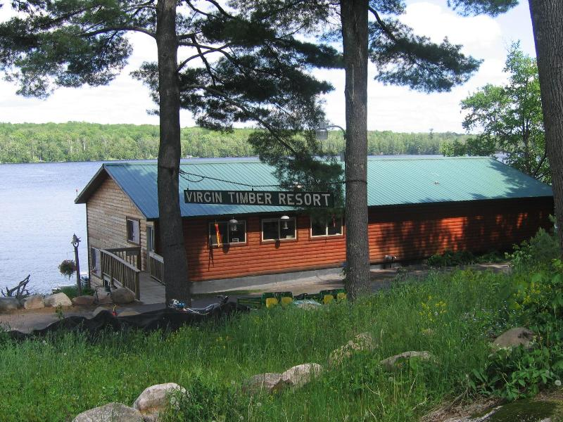 Lodge - Virgin Timber Resort on Beautiful Moose Lake - Hayward - rentals