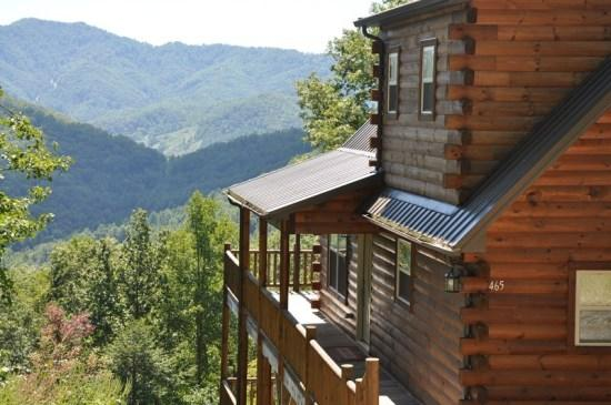 Sun Eagle Lodge, Bryson City, NC - Sun Eagle Lodge - Upscale Three Level Rental with Spectacular View and All the Amenities You Want - Bryson City - rentals