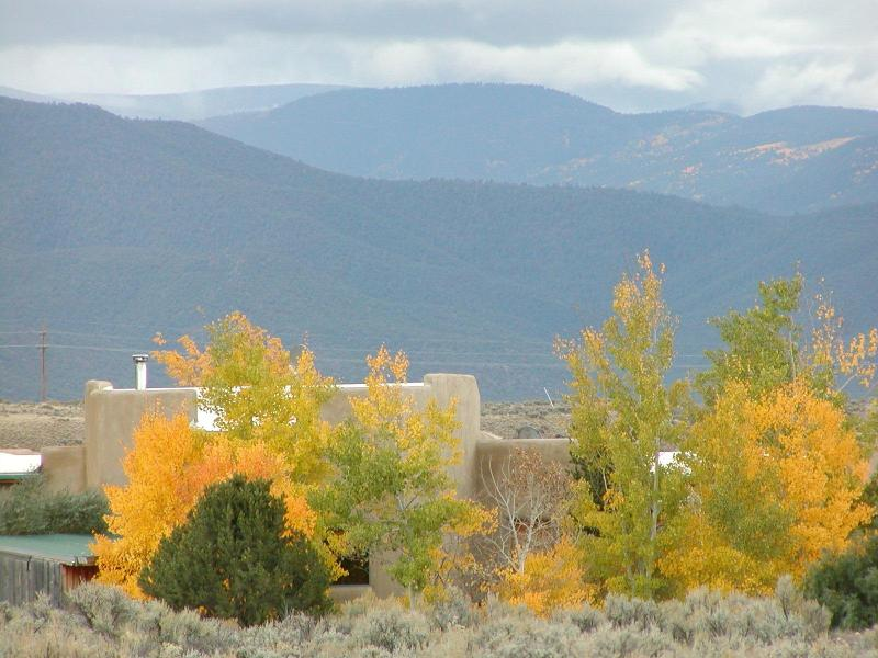 First Week in October 2010 - Introvert Heaven Guesthouse in High Desert Country - Taos - rentals
