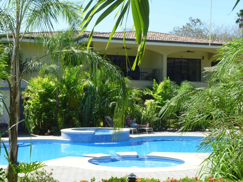 Swimming Pool - 2 Bedroom Tropical Oasis at Penca Beach in Potrero - Playa Potrero - rentals