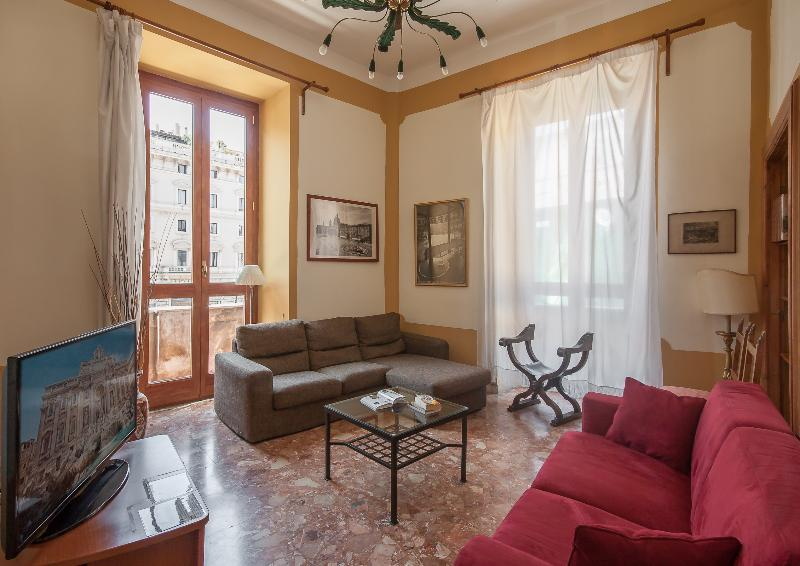 Living room - Rome Accommodation Baullari - Rome - rentals