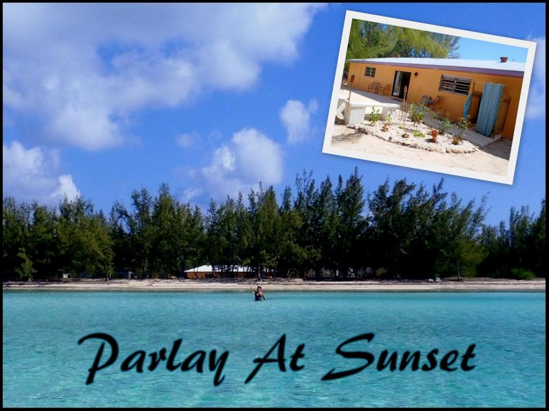 Parlay At Sunset... - Parlay At Sunset - A Bahamian Beach House - Tarpum Bay - rentals