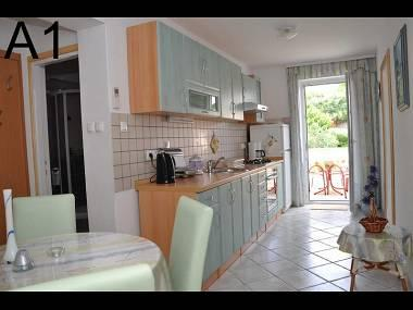 A1(2+2): kitchen and dining room - 3004 A1(2+2) - Banjol - Banjol - rentals