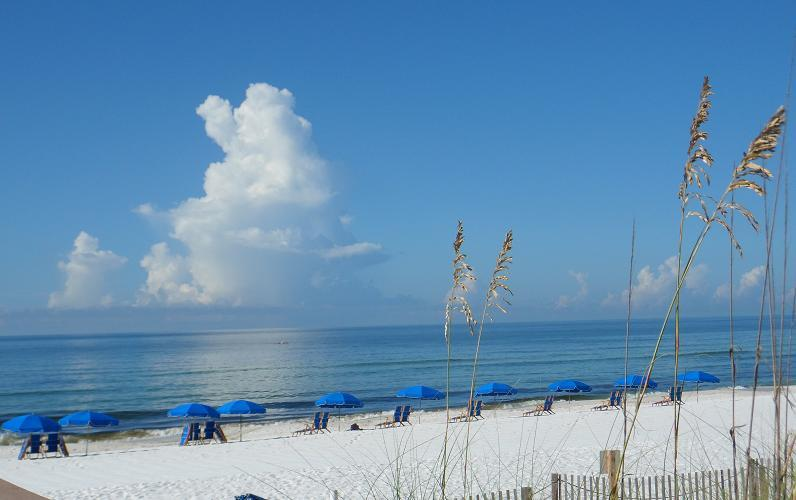 sandy white beaches - lsland Princes 205  - Direct Ocean View & On the Beach - Free Beach Chairs (in season) - Fort Walton Beach - rentals