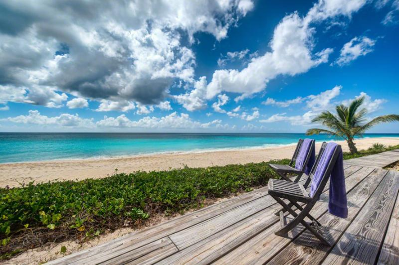 Villa Eden... Terres Basses, St Martin Your Beach! 800 480 8555 - EDEN...located on one of St. Martin's finest beaches, beautiful Baie Longue - Baie Longue - rentals